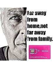 T-Mobile Prepaid Sim-kaart VS 30 dagen-True Onbeperkt Hoge Snelheidsgegevens/Gesprekken/Teksten