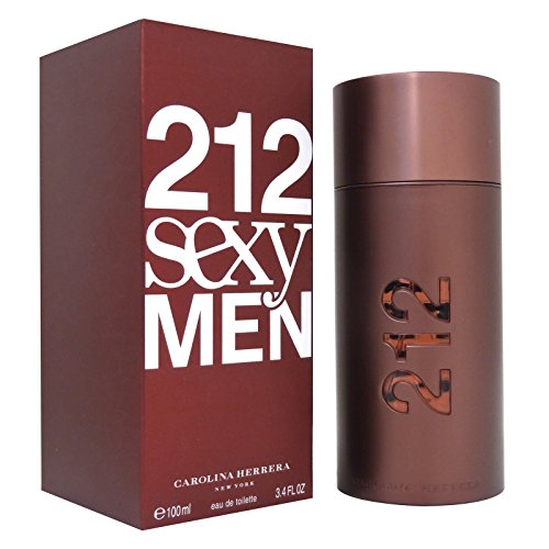 Herrera Mandarin Eau De Toilette - 212 Sexy by Carolina Herrera for Men Eau De Toilette 3.4 oz 100 ml NEW (IN MIND)