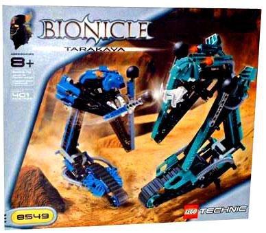 Lego Technic Bionicle - Lego Technic BIONICLE Tarakava Set# 8549