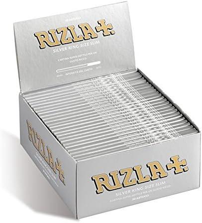 RIZLA 5 Booklets Rizla Black King Size Slim Rolling Papers