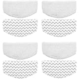 ITidyHome 8 Pack Replacement Pads for Bissell Powerfresh Hard Floor Steam Cleaner 1940 1440 1806 Series Steam Mop Compare to