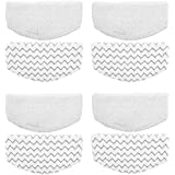 ITidyHome 8 Pack Replacement Pads for Bissell Powerfresh Hard Floor Steam Cleaner 1940 1440 1806 Series Steam Mop…