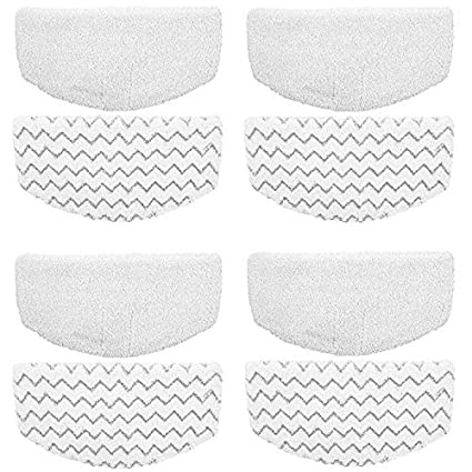 ITidyHome 8 Pack Replacement Pads for Bissell Powerfresh Hard Floor Steam Cleaner 1940 1440 1806 Series Steam Mop Compare to Part # 5938 /& 203-2633