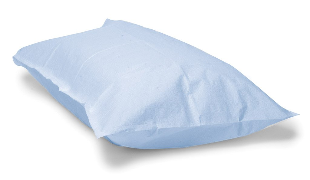 Avalon Papers 703 Pillowcase, Tissue/Poly, 21'' x 30'', Blue (Pack of 100)