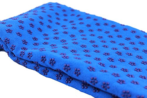 Yoga Mat Towel Blue