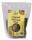 Jiva USDA Organic Whole Moong (Mung) Beans 2 Pound
