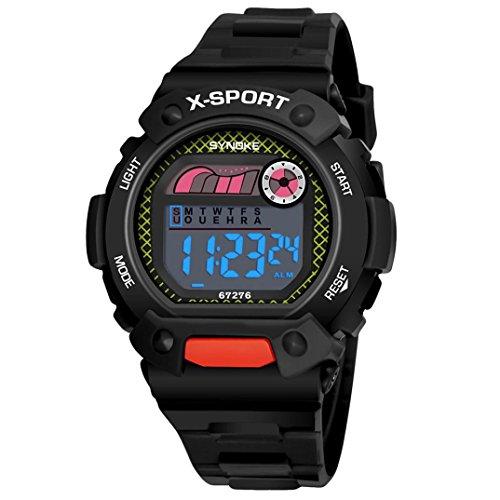 BEUU 2018 Waterproof Children'S Watch Children Boys Student Sports Led Digital Date Wristwatch (Type (Famous Look Automatic Watch)