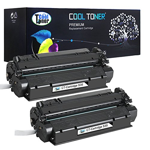 Cool Toner 2 Pack Compatible Canon S35 S-35 Cartridge 7833A001AA Black Toner Cartridge For Canon imageClass D300 D320 D340; FAXPHONE L170; imageClass MF3240; PC-D320 D340 Printer