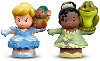 Fisher-Price Little People Disney Princess Cinderella & Tiana Figure