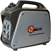 Dirty Hand Tools 104610, 1000 Running Watts/1200 Starting Watts, Gas Powered Portable Inverter Generator, EPA...