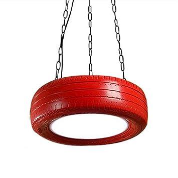 Kreativ Reifen Gestalten LED Deckenleuchte, Acryl Gummi Schatten  Kronleuchter Modern Restaurant Cafe Deckenbeleuchtung Dachgeschoss  Schlafzimmer