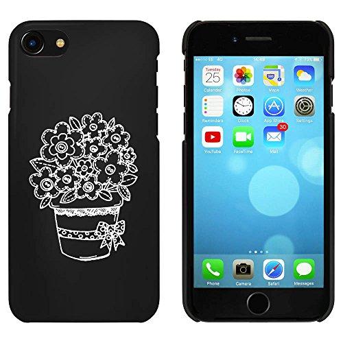 Noir 'Plante en pot' étui / housse pour iPhone 7 (MC00058293)