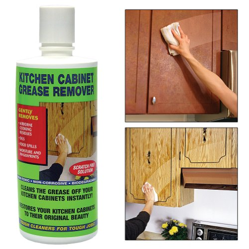 Kitchen Cabinet Degreaser Cleans Grease Removes Residue