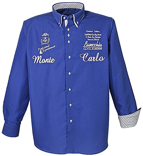 Große Größen - LaVecchia Herren Hemd in Übergröße 5XL
