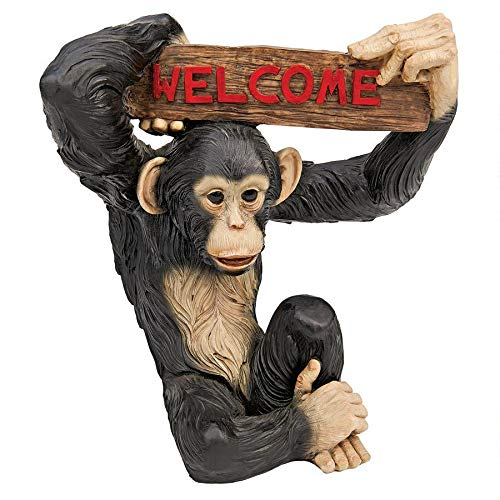 Design Toscano Monkey Business Jungle Welcome Statue
