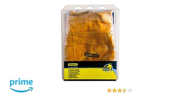 Stanley 460402 - Delantal de piel: Amazon.es: Industria, empresas y ciencia