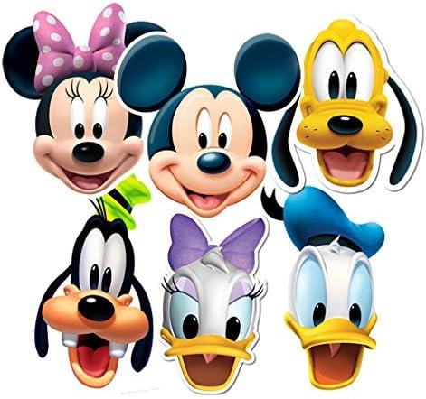 Taille Unique Star cutouts Stsmp37-6 Masques pour Adulte Personnages Mickey Et Friends