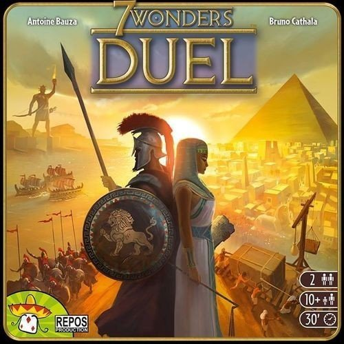 7 Wonders Duel Board Game new free shipp