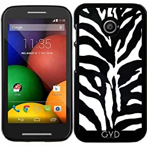 Funda para Motorola Moto E (Generation 1) - Cebra by WonderfulDreamPicture