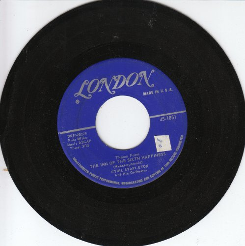 The Children's Marching Song/The Inn Of The Sixth Happiness (45 Single)