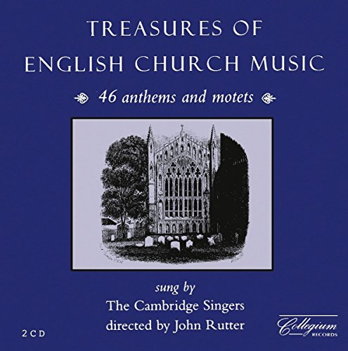 Treasures of English Church Music: 46 Anthems and (British Choral Music)