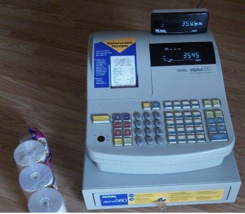 Royal alpha 580 Cash Management - Management Royal Cash System