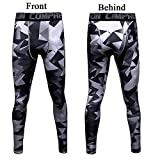1Bests Men's and Youth Boy Gym Workout Leggings