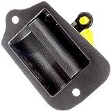 2004 mazda 3 door handle - APDTY 85411 Interior Inside Door Handle Fits Rear Left 1996-2003 Chevy S10 GMC Sonoma (OE Plastic Design; Replaces GM 15760310, 19211052)