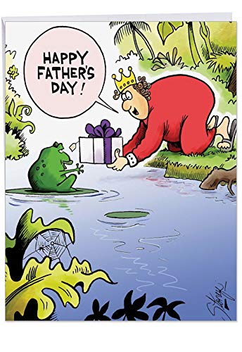 Hilarious Happy Father's Day Card (8.5