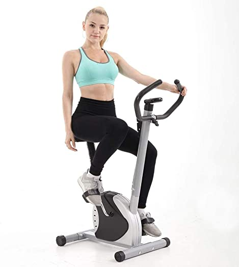 Indoor Cycling Bike Upright Stationary Exercise Bike