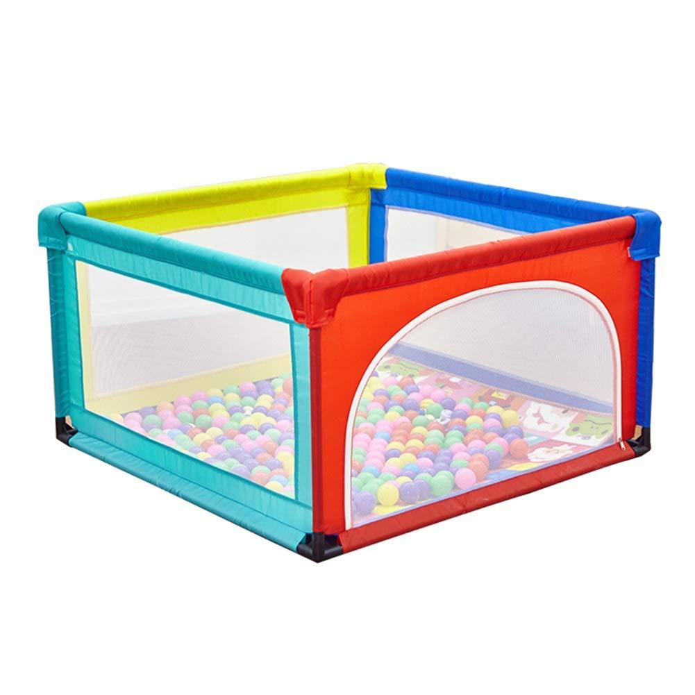 ベビーサークル 4パネルベビープレイペン、子供用ゲームフェンス、幼児用遊び場幼児用屋内用保護具、高さ68cm (サイズ さいず : 120X95X68cm) 120X95X68cm  B07HYXZ5ZT