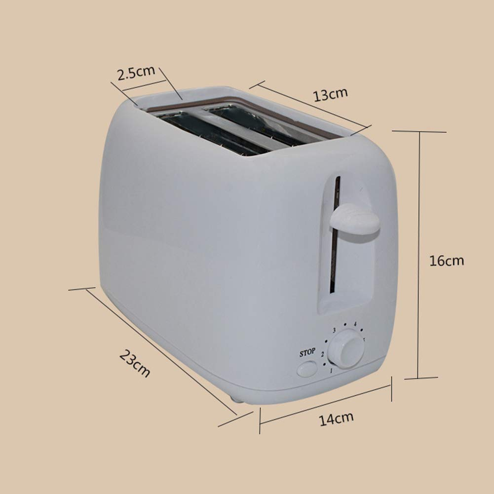 gfjhgkyu 2-Slice automático de calefacción rápido Pan tostadora ...