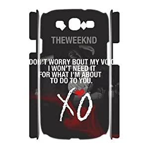 C-EUR The Weeknd XO Customized Hard 3D Case For Samsung Galaxy S3 I9300