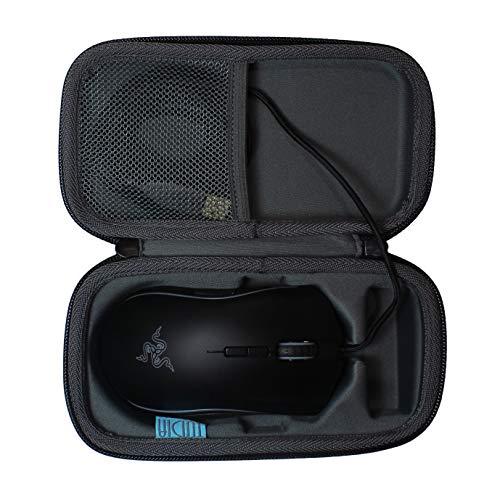 TUDIA Hard Travel EVA Shock Absorption Carrying Storage Case for Razer Mamba Tournament Edition - Professional Grade Chroma Ergonomic Gaming Mouse