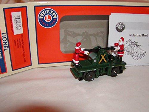 - Lionel 6-38853 North Pole Express Santa & Mrs Claus Hand Car MIB O-27 Handcar ^G#fbhre-h4 8rdsf-tg1376230