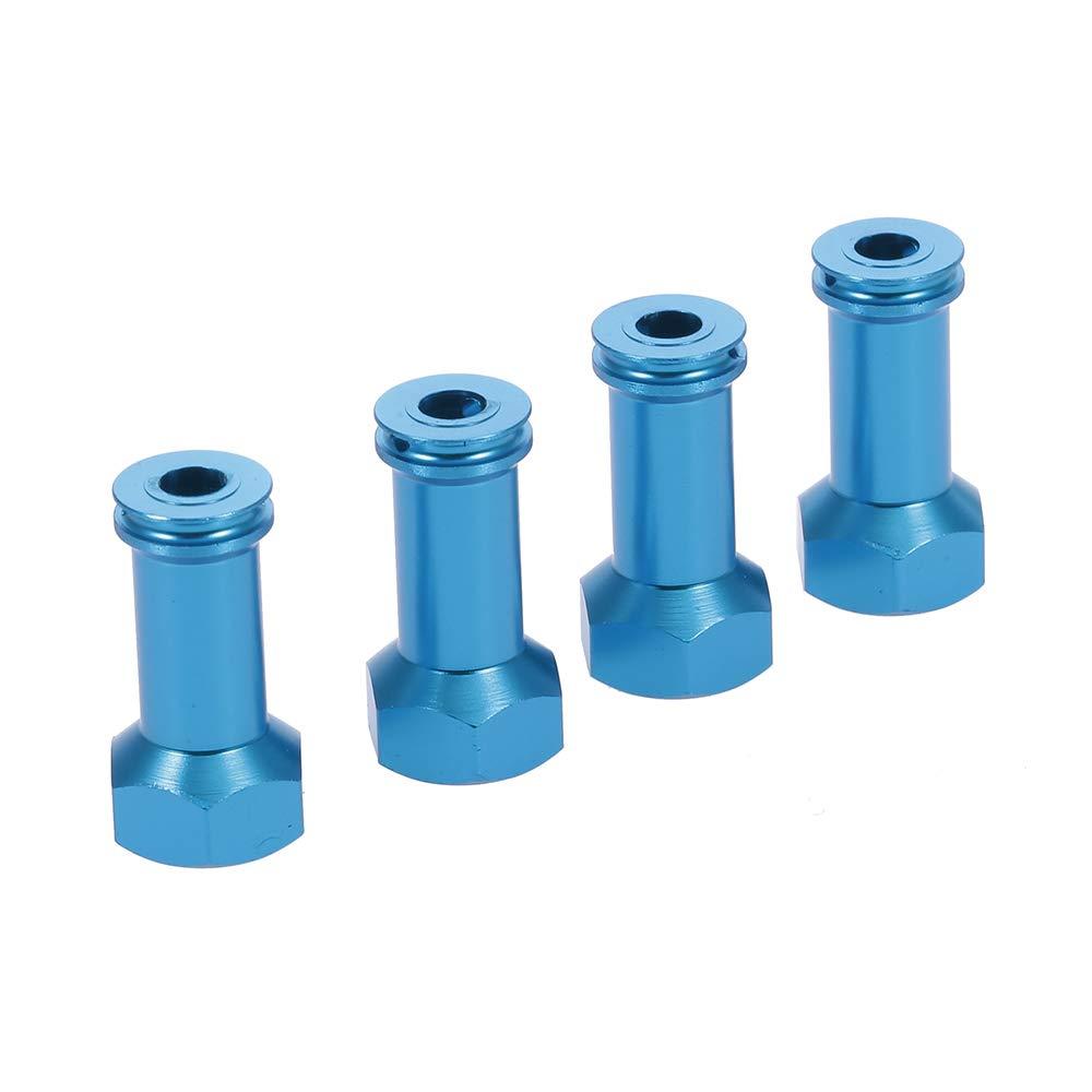 4 st/ücke 24mm Hex Hub Extension Adapter Spurverbreiterungen Metall f/ür WLtoys 1//18 A959 A979 A969 A959B A979B A969B RC Auto