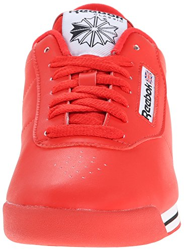 Reebok Black Sneakers Classic D Wide Princess Techy Red White Women's rnr1UXqw4