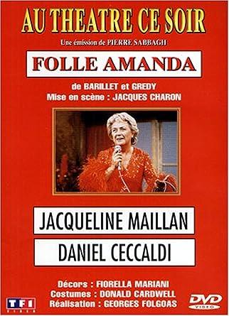 Folle Amanda - Pèce de théâtre avec Jacqueline Mailla 51S4255T9VL._AC_SY445_