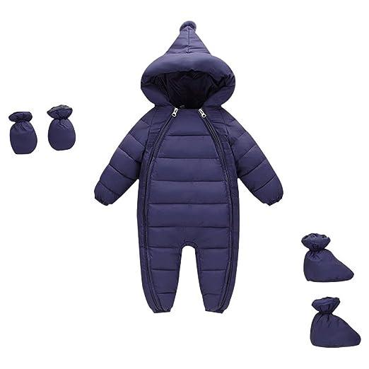12 opinioni per Vine Bambino Tute da neve e Guanti Scarpe Pagliaccetto con Cappuccio Inverno