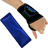 Best Heat Pack For Hands - Wrist Support Brace with Gel Ice Pack Review