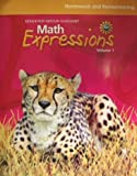 Math Expressions: Homework And Remembering Consumable Volume 1 Level 5