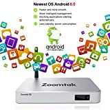 New Zoomtak H8 Android 6.0 Smart 4K S905X Ouad Core 8GB 2GB