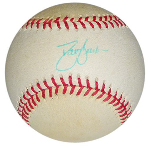 DAVID JUSTICE SIGNED WILLIAM D WHITE ONL RAWLINGS BALL BRAVES INDIANS NY YANKEES by otto99