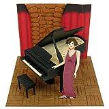 Miniatuart Kit Studio Ghibli mini Porco Rosso Singing Gina Opera Complete Model Figure Sankei Animation Film Hayao Miyazaki