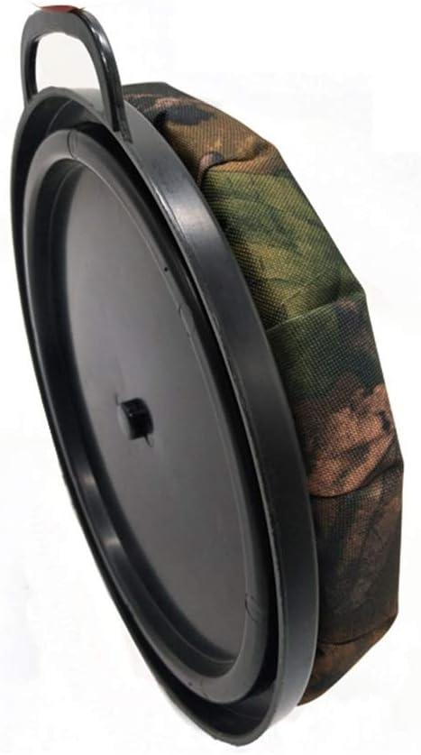 Culpeo 360-Degree Swivel Seat, Memory Foam Bucket Seat, Fishing Hunting Camouflage Swivel seat, Silent Spin Bucket Seat (Camo) : Sports & Outdoors