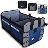 Premium Car Trunk Organizer – Best Heavy Duty Construction – Great For Car, SUV, Truck, Minivan, Home- Collapsible For Easy Storage Higher Gear Products