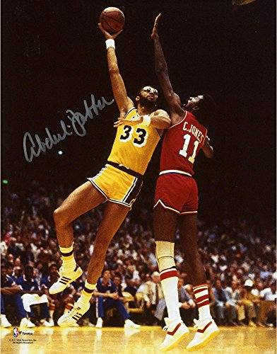 Lakers Photograph Autographed Angeles Los - Kareem Abdul-Jabbar Los Angeles Lakers Autographed 8