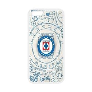IPhone 6 Plus Cases Cruz Azul Drawing, [White]
