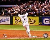 Evan Longoria Tampa Bay Rays 2011 Wild Card Clinching HR Photo 8x10