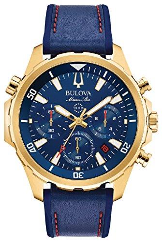 Bulova Men's Marine Star - 97B168 Blue One (Blue Star Marine)